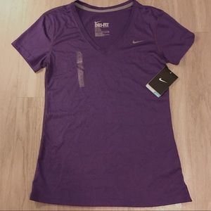 Nike Dri-Fit Training Tee Purple